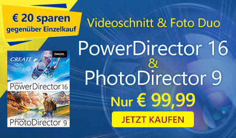 PowerDirector 16 + PhotoDirector 9