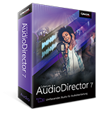 AudioDirector - Umfassendes Audio-Studio für Videos
