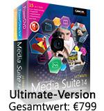 Die umfassenste Sammlung preisgekrönter Multimedia-Software