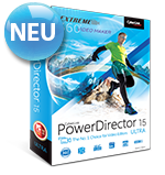 PowerDirector 15 - Die Nr. 1 für Video-Cutter