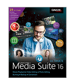 Media Suite 16 - Die komplette & preisgekrönte Multimedia-Software