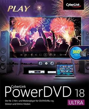 PowerDVD - Weltweit die Nr. 1 Film- & Medienwiedergabe für Disks, Video, Audio und Streaming | CyberLink